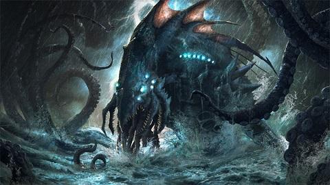 Ahtapotun Babası Kraken Efsanesi