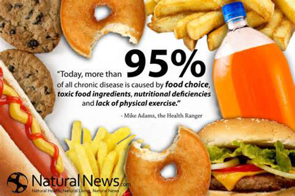 They Say That Fast Food Is Not Healthy