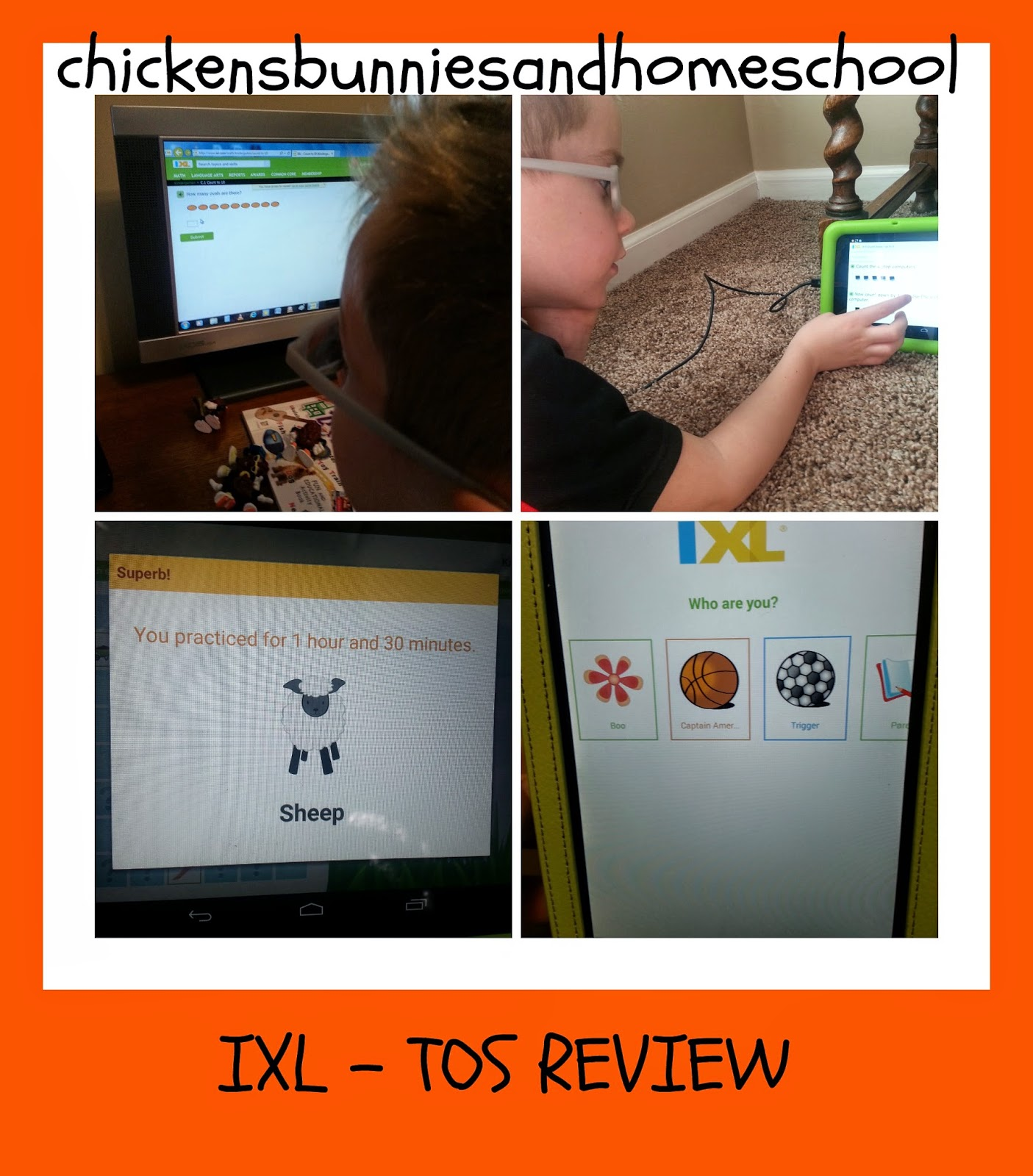 ChickensBunniesandHomeschool : IXL Learning {TOS - REVIEW}