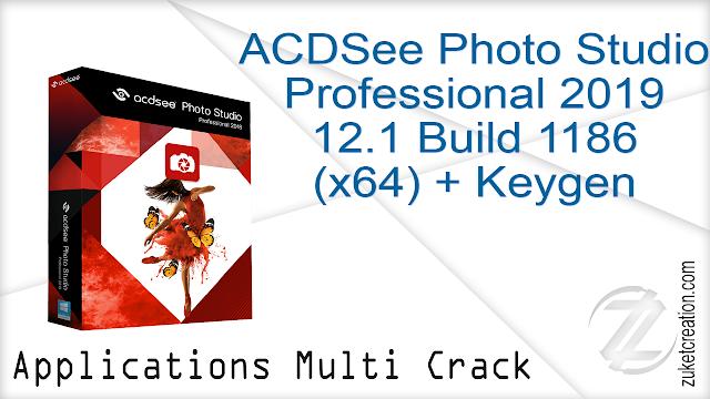 ACDSee Photo Studio Professional 2019 12.1 Build 1186 (x64) + Keygen