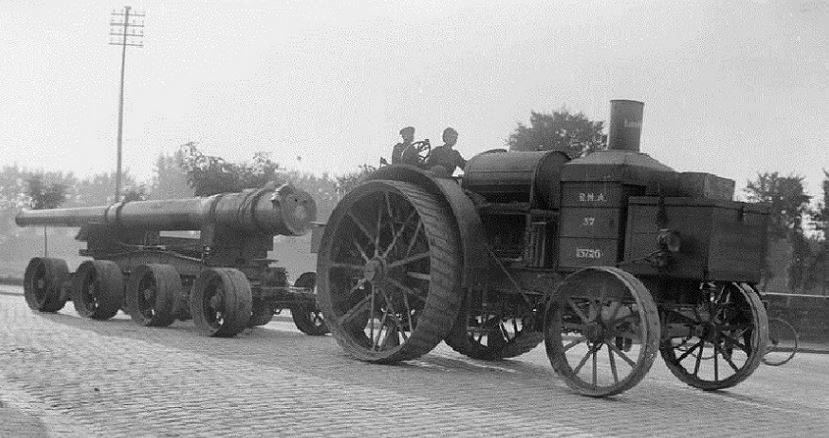 Just A Car Guy: The Royal Marine Artillery used the Daimler-Foster