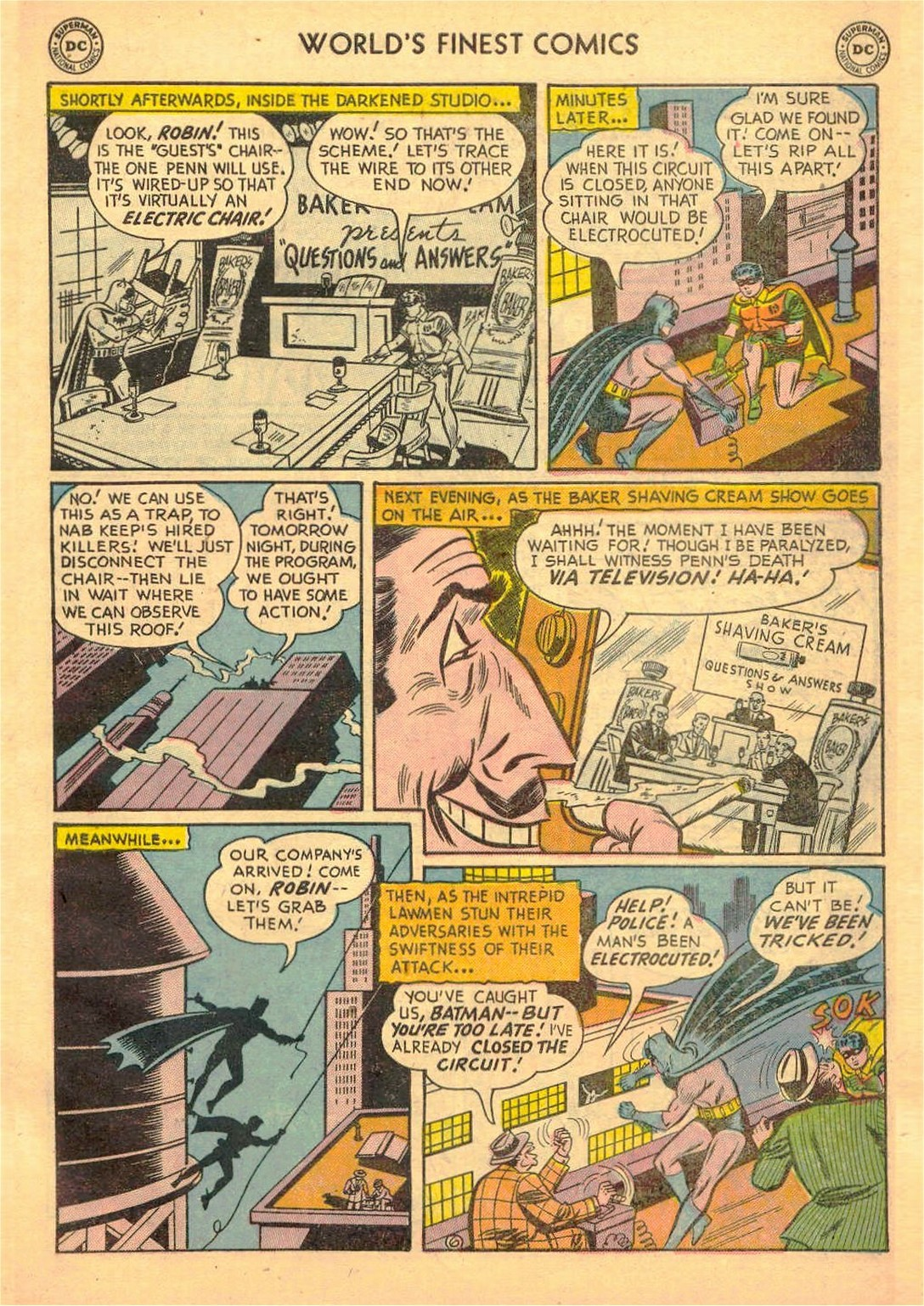 Read online World's Finest Comics comic -  Issue #58 - 59