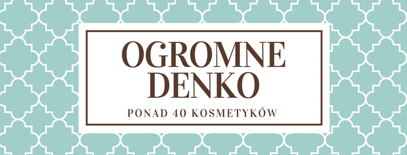 OGROMNE DENKO / PONAD 40 KOSMETYKÓW