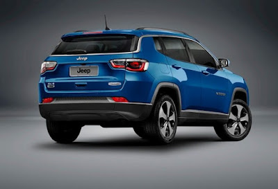 2017 Jeep Compass rear view