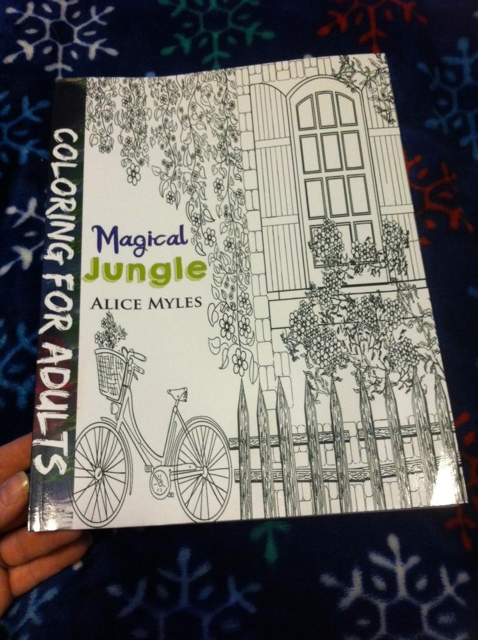 I Have A Box Problem: Magical Jungle (Magic coloring books ...