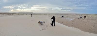 Filmagem com drone praia