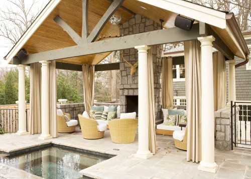 Dreamy outdoor spaces part ii - Covered outdoor living spaces ...