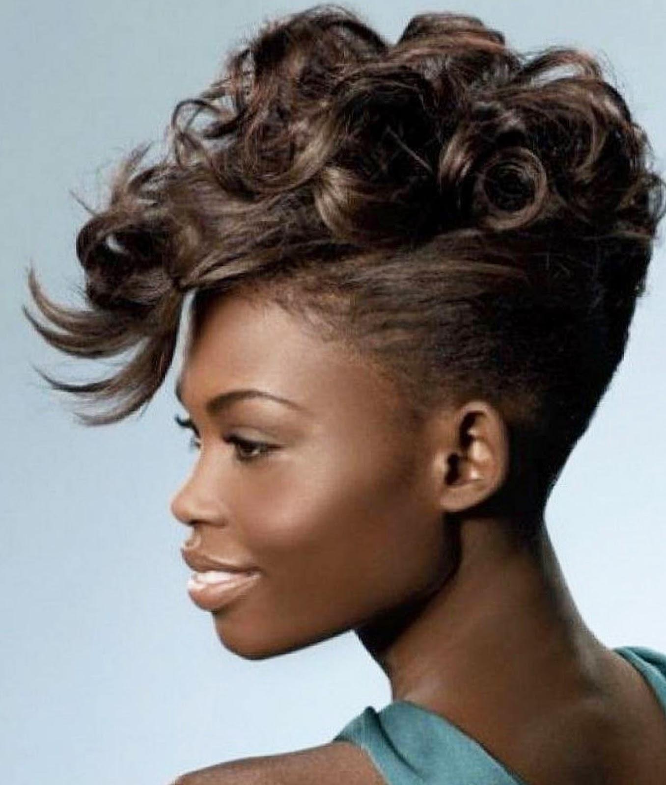 Super Mohawk Styles For Black Women 2016 Hairstyles Spot Short Hairstyles Gunalazisus