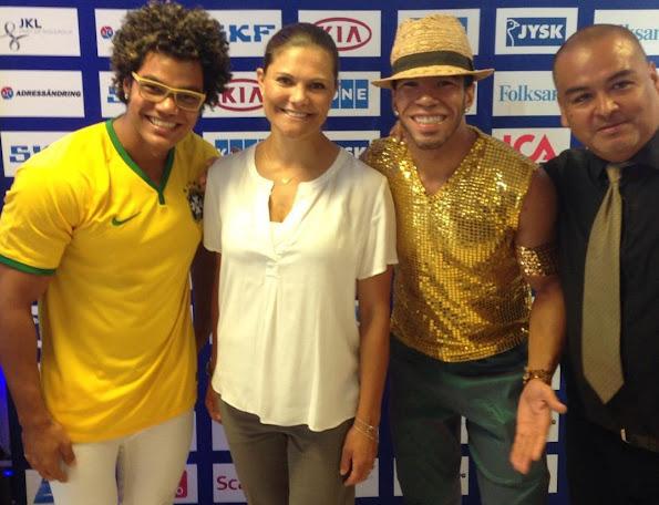 Swedish Paralympic Olympic team.Rio 2016 Olympics, Rio de Janeiro, Brazil