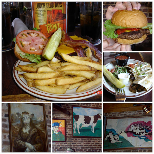 restaurante TBonz - onde comer no centro de Charleston