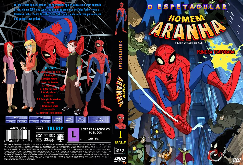 Spider Ctba O Espetacular Homem Aranha Serie Animada