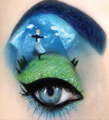 tal peleg makeup artist, eye makeup