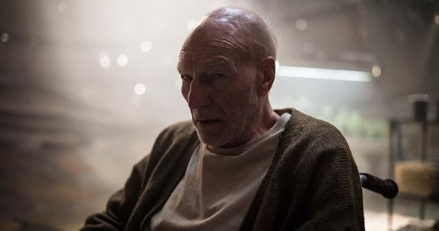 Patrick Stewart como Charles Xavier en Logan
