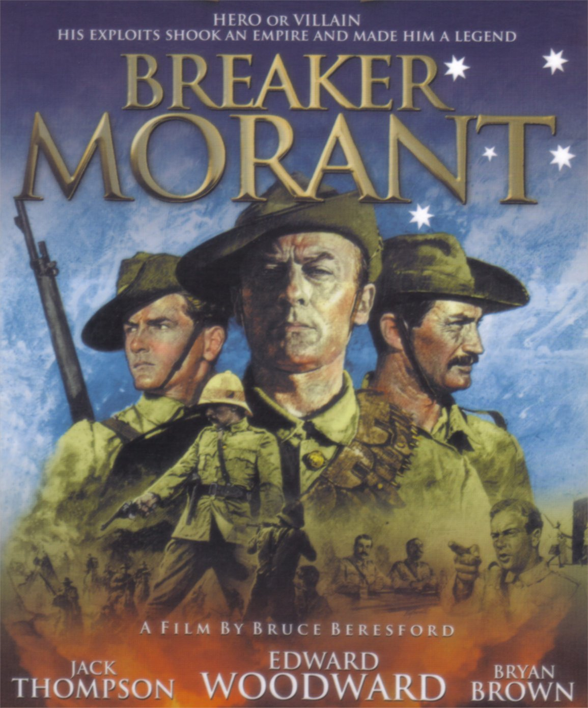An analysis of the topic of the film of breaker morant
