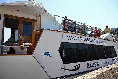 Captain Vangelis' Glass Bottom Boat Special Cruises