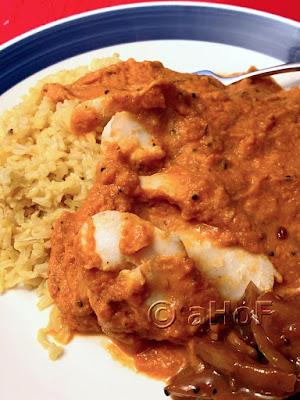 South Indian Fish Curry or Meen Kuzhambu