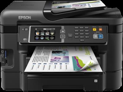 Epson Workforce WF-3640DTWF Driver Downloads