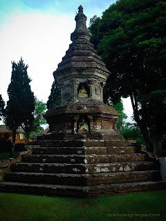 Old And Sacred Balinese Hindu Temple Building At Ulun Danu Bratan, Bedugul, Tabanan, Bali, Indonesia