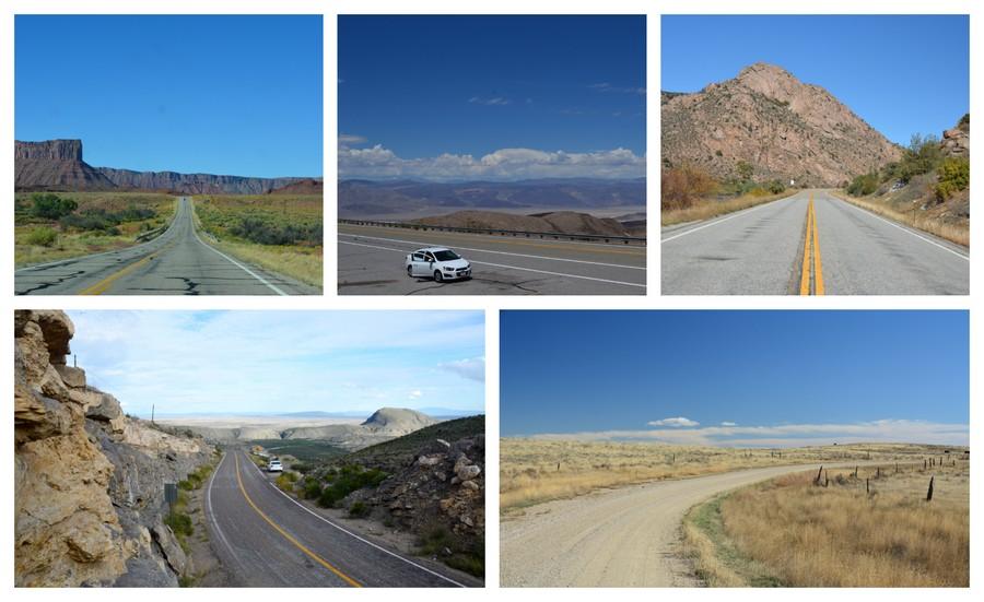 beaux paysages et road trip USA