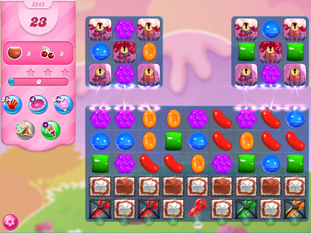 Candy Crush Saga level 3242