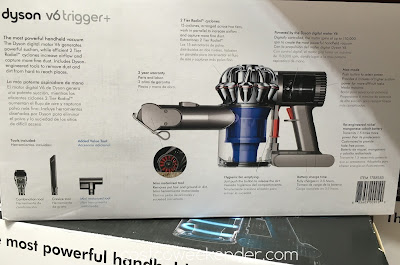 Costco 1788185 - Clean the right way with the Dyson V6 Trigger+ Handheld Vacuum