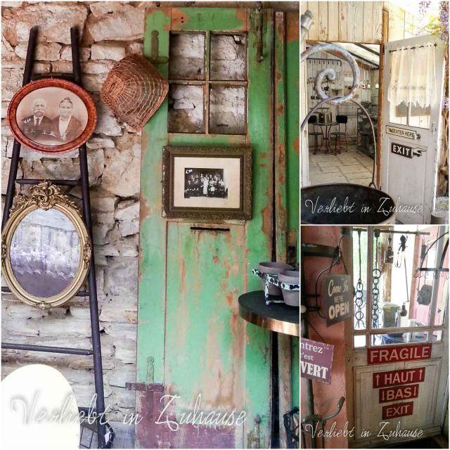 Haustür Dekoration Deko Shop Frankreich