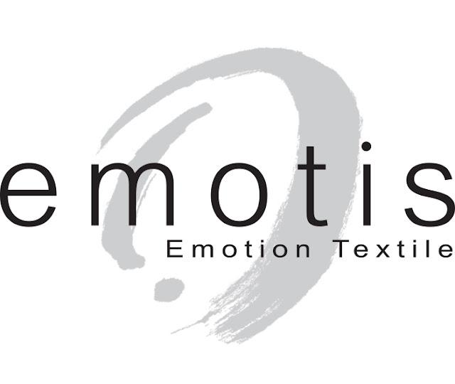 Logo de la marque française Emotis Émotion Textile - Blog beauté Les Mousquetettes