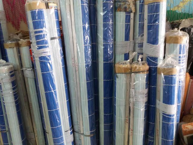 Mành nhựa ống dày che nắng hiệu quả