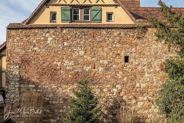 Mur d'enceinte médiéval, secteur du Henckersturm (mai 2020)