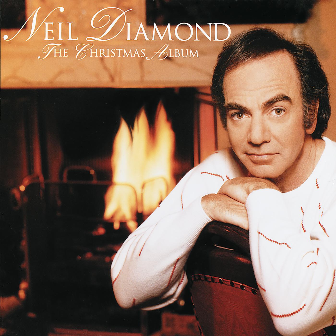 cD Neil Diamond -The Christmas Album  Cover