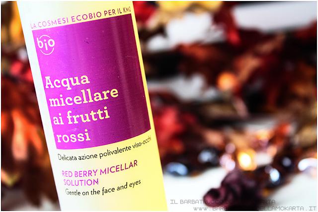acqua micellare frutti rossi biofficina toscana review