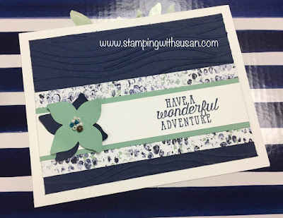Stampin' Up!, www.stampingwithsusan.com, Tranquil Textures Suite, Sea of Textures