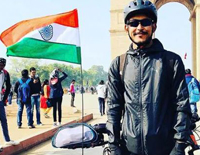To Raise Funds For Pulwama Martyrs, Manipur Cyclist Completes 9 Day Tour
