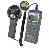 Jual Anemometer AZ Instrument 9671 Anemometer Data Logger Call 0812-8222-998