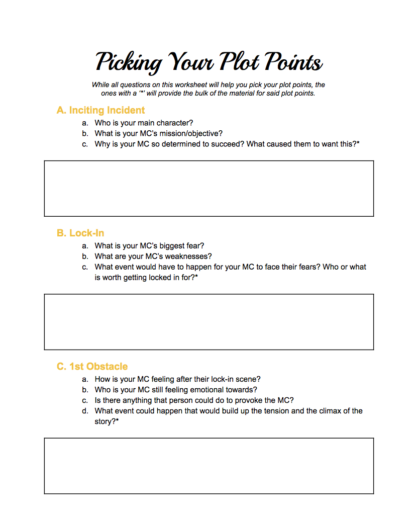 worksheet Plotting Points Worksheets picking your plot points a free worksheet perfectly ambitious and just in case youve decided that you want to use this method as well ive included for use