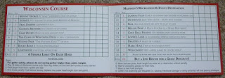 Miniature Golf scorecard from Vitense Golfland in Madison, Wisconsin