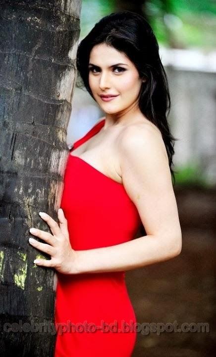 Indian Actress Zarine Khan Hot HD Photos In Tight Dress