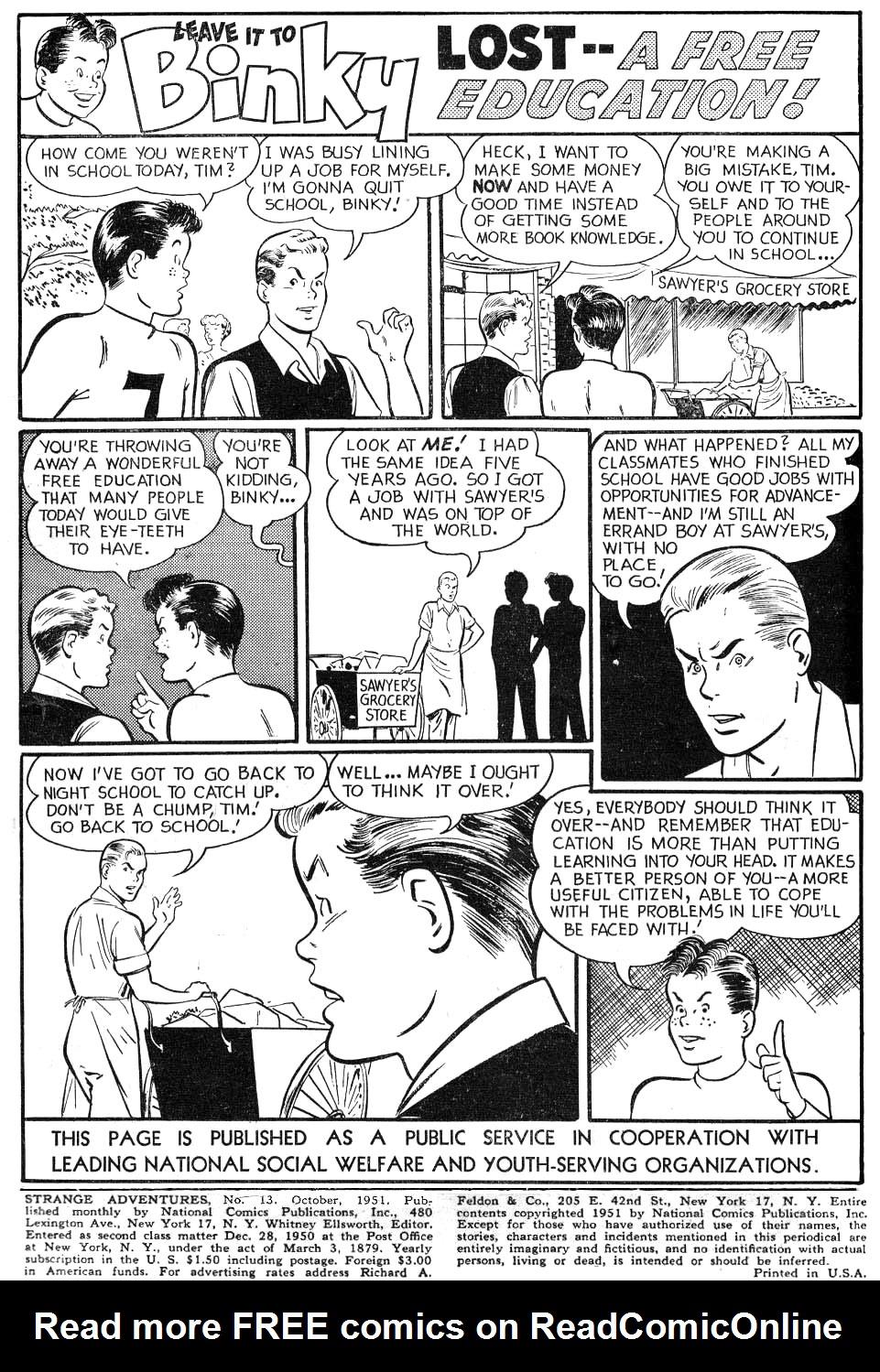 Strange Adventures (1950) issue 13 - Page 2