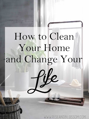 cleaning to ease anxiety in the home