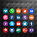 Social Media Icon Pack - Free Vector