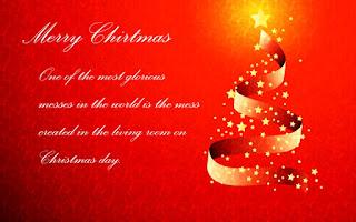 Kartu Ucapan Natal Merry Christmas 80010