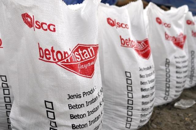 Beton Instan SCG (Siam Cement Group) Produsen, Supplier dan Distributor Pusat Jual Produk Beton Mix Instan
