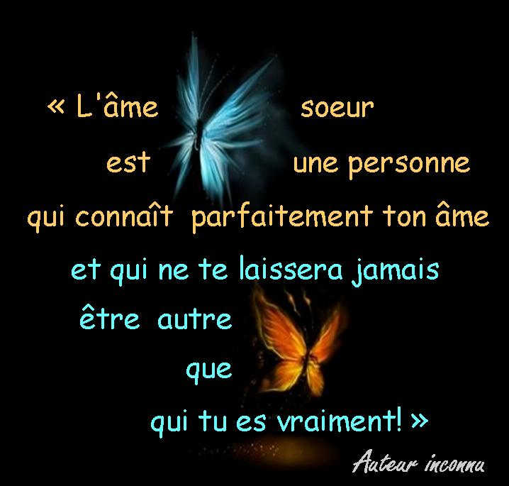 Citation rencontre ame soeur