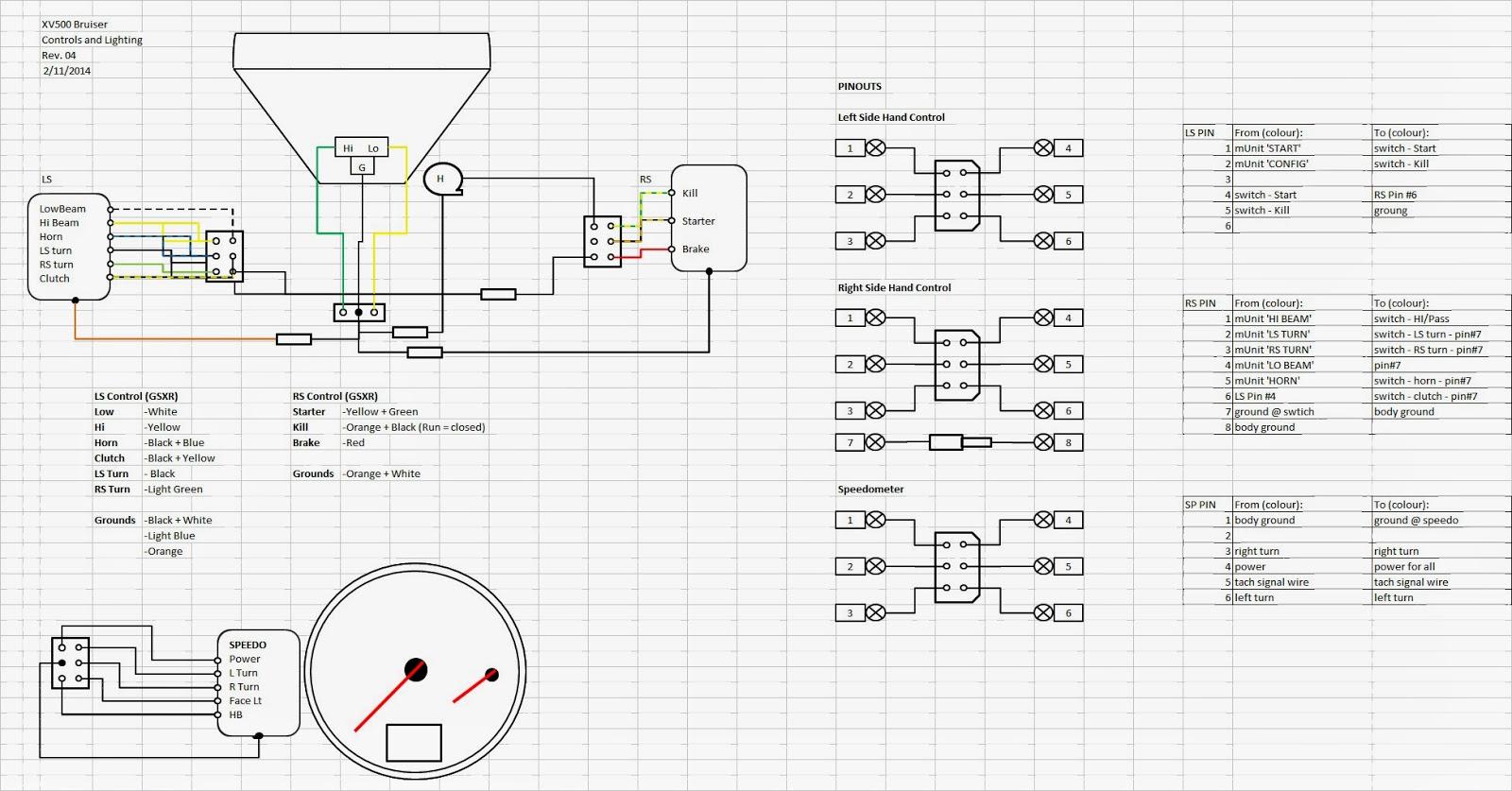 custom motorcycle wiring diagrams on 01 ford super duty fuse box Yamaha Warrior Wiring Diagram  Yamaha Xs400 Wiring Diagram Yamaha Xj1100 Wiring Diagram Yamaha Virago 920 Manual