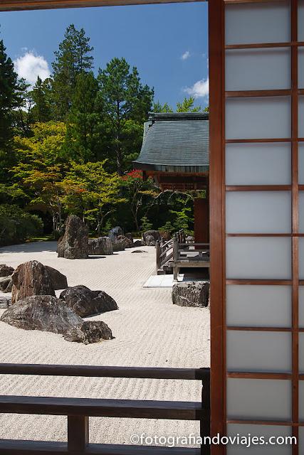 Templo Kongobuji en Koyasan