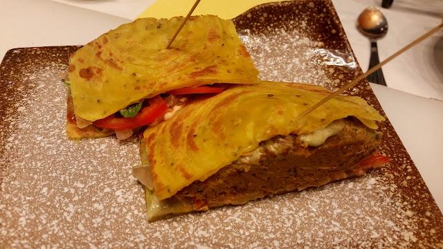 Shammi Kabab Sandwich