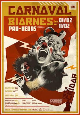 Le Carnaval Biarnès de Pau 2018
