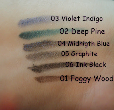 swatches lápices