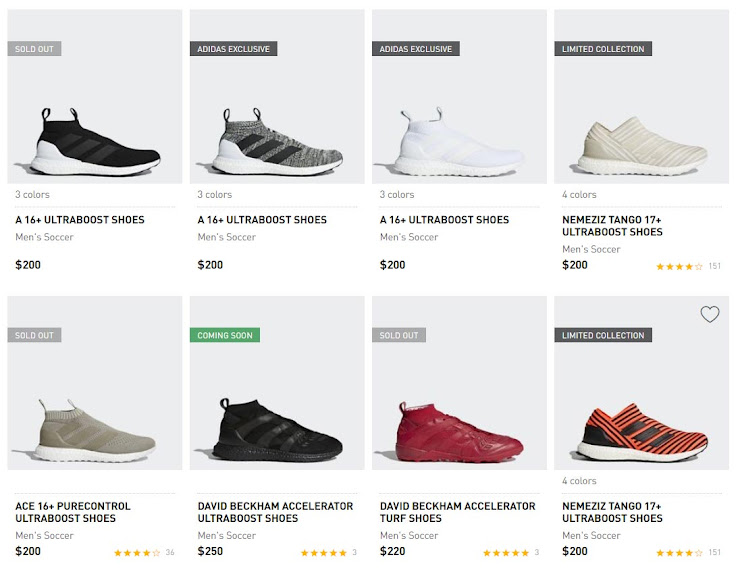 5bbe79131fe0 ... Adidas called them just Adidas A 16+ Ultra Boost instead of Adidas Ace  16+ Ultra Boost