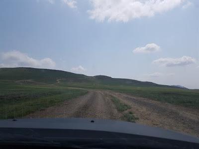 Trayecto hacia el monasterio de David Gareja